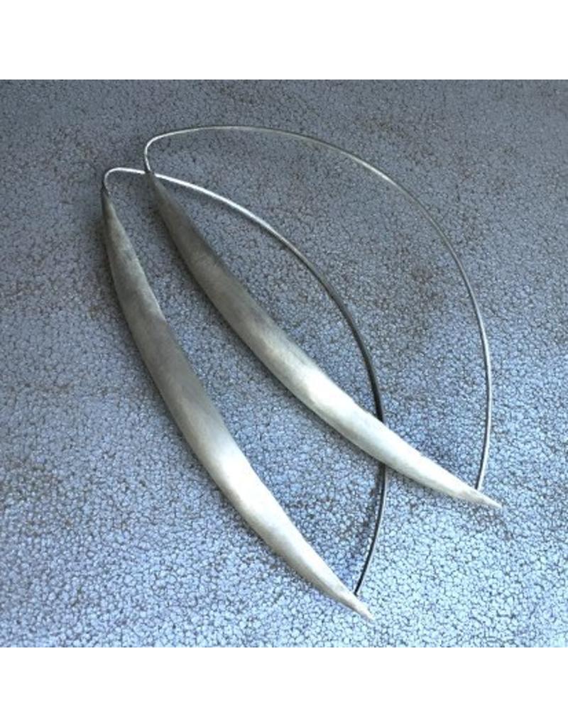 Christina Odegard Ecu Earrings in Silver