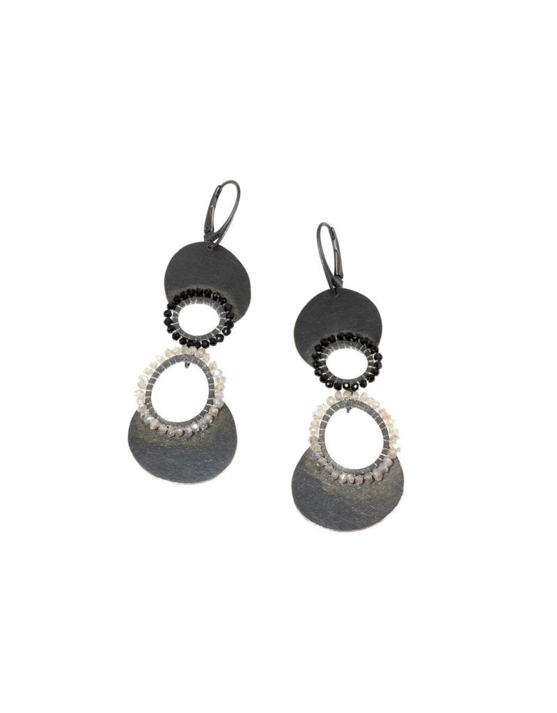 Tiered Circle Earrings