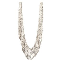 Lattice Collar Necklace in Silver