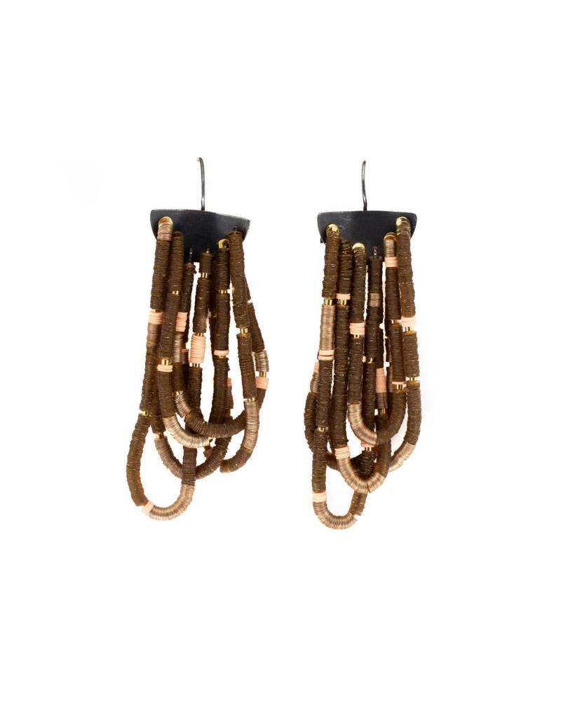 Last Night Loop Earrings in Gold