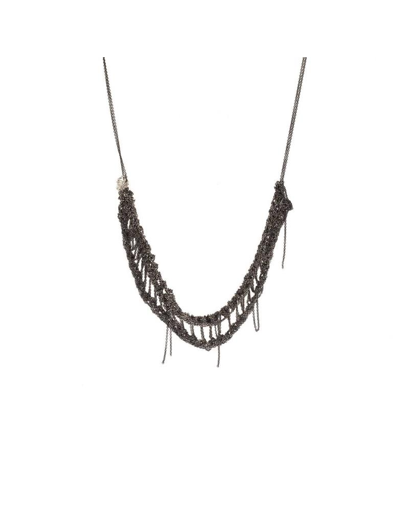 Slink Necklace in Oxidized Silver