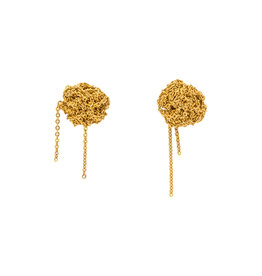 Bead Earrings in 18k Gold Vermeil
