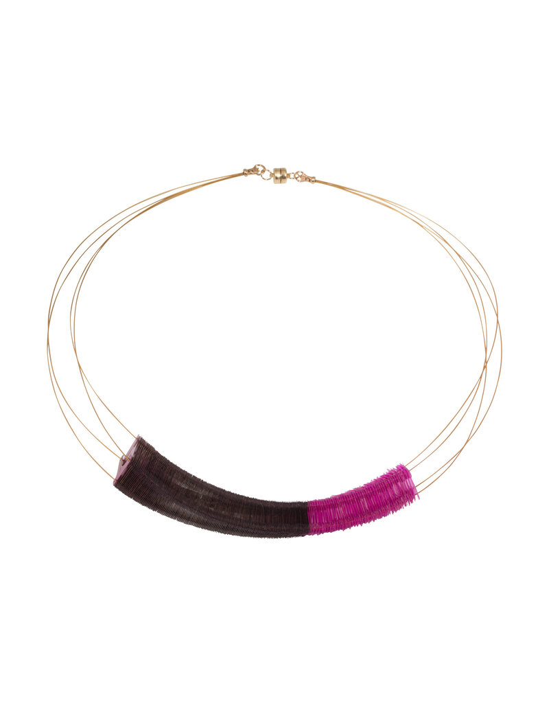 Delirium Twighlight Necklace in Light and Dark Pink