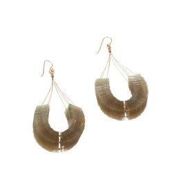Dune Dreaming Loop Earrings