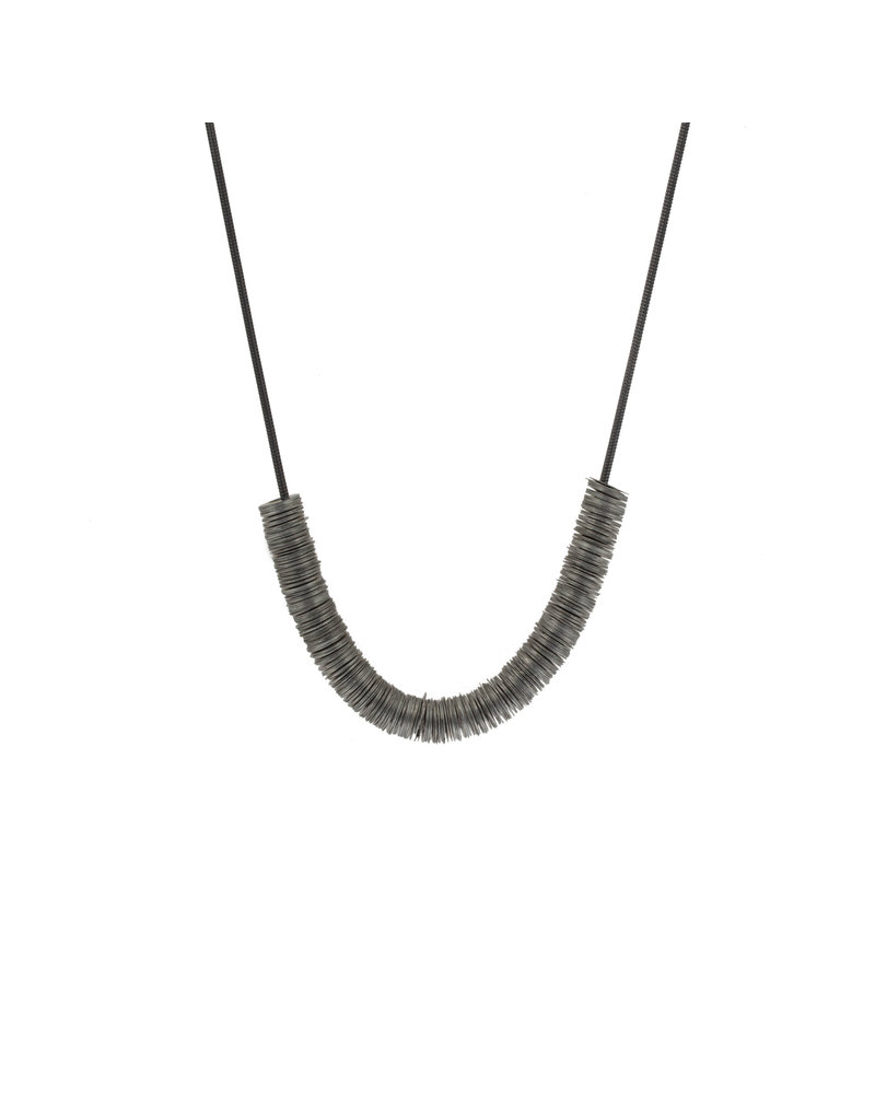 Inner Circle Metal Rings Necklace