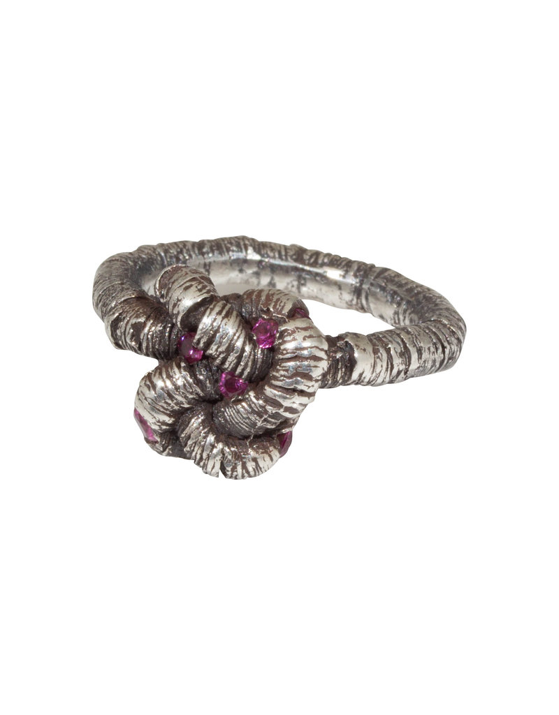 Oneiric Ring with Small & Large Rubies