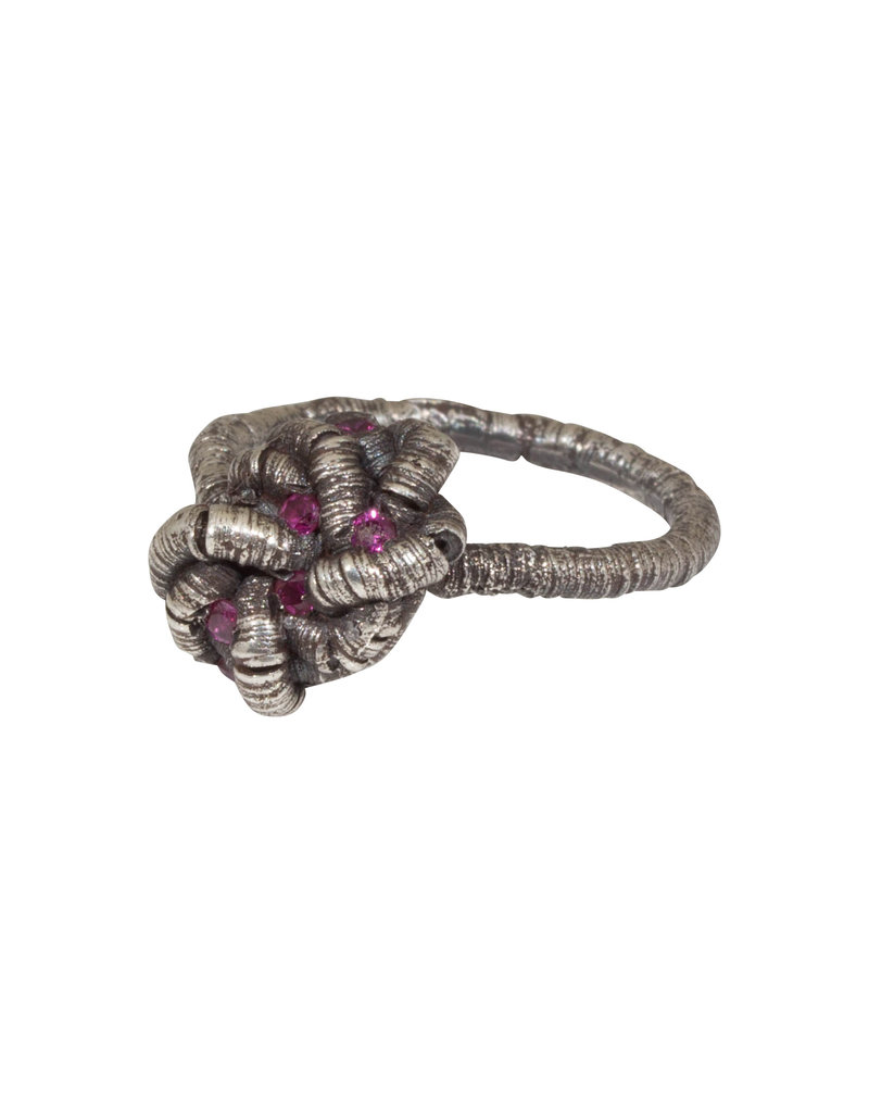 Oneiric Ring with Seven Rubies