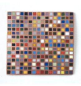 Mew Chiu Dutch Still Life Enamel Mosaic
