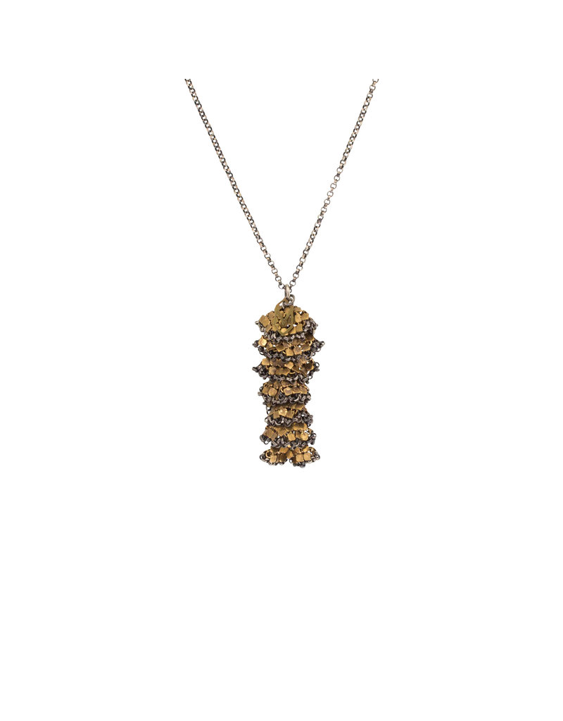 Maral Rapp Stacked Tassle Necklace