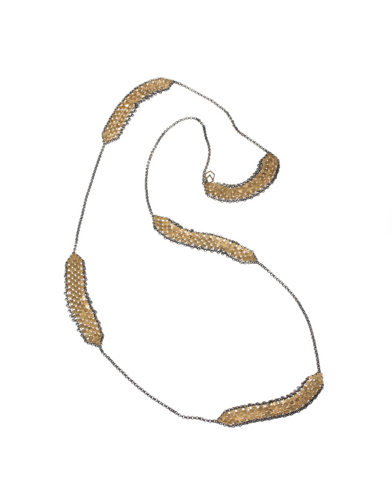 Maral Rapp 5-Bar Mesh Necklace