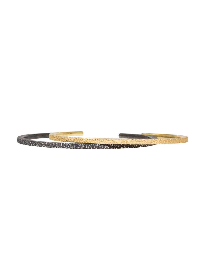 Sand Cuff Bracelet in 18k Yellow Gold