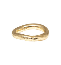 Chunky Organic Ring in 14k Gold