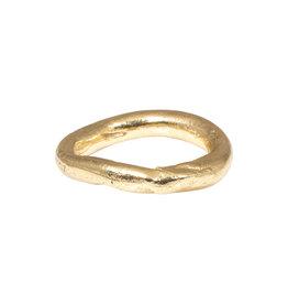Nan Collymore Chunky Organic Ring in 14k Gold