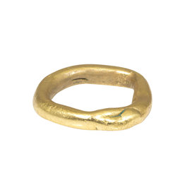 Nan Collymore Simple Organic Band in Brass