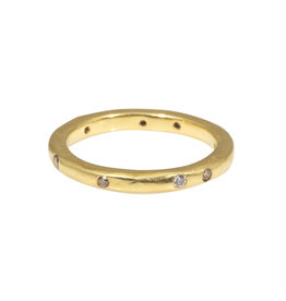 2.5mm Modeled Band in 18k Yellow Gold
