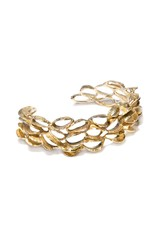 Banksia Cuff in Yellow Bronze
