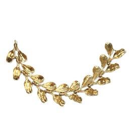 Dyad Chain Link Bracelet in Yellow Bronze