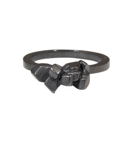 Pakayla Ring in Oxidized Silver