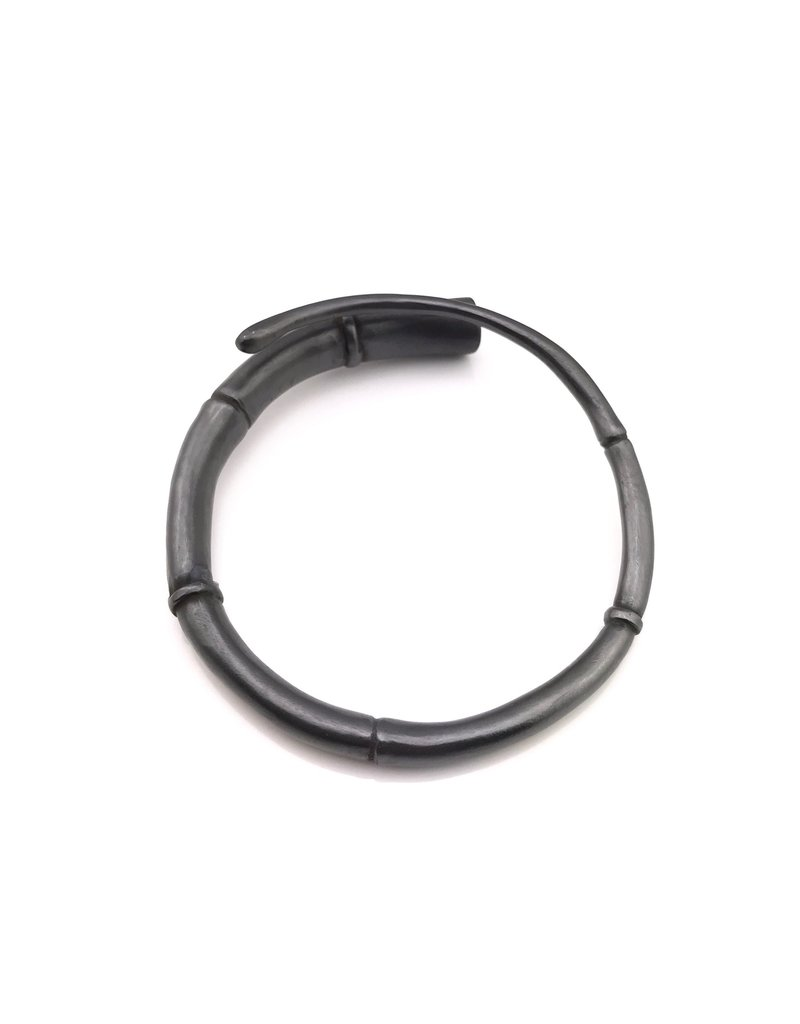 Kai Wolter Black Tendril Bangle Bracelet