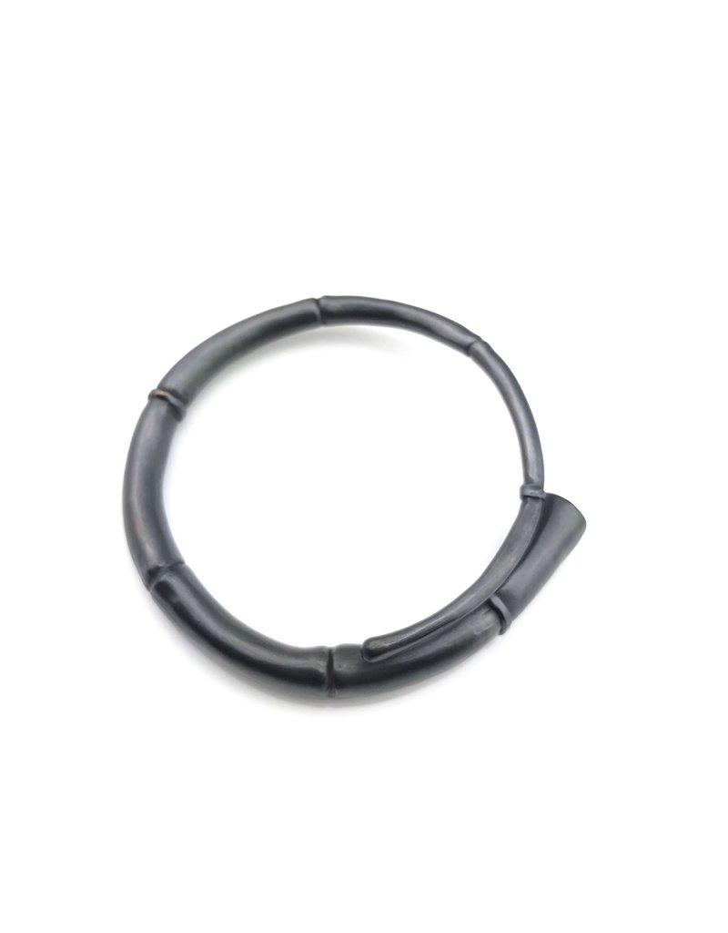 Kai Wolter Single Black Tendril Bangle Bracelet
