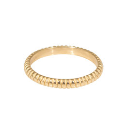 Gliss Band in 14k Gold