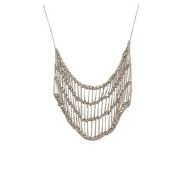 Frame Atelier Necklace in Oxidized Silver