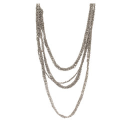 6-Standard Necklace in Silver