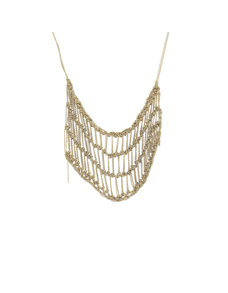 Frame Necklace in Silver