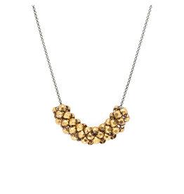Maral Rapp Stud Mesh Roller Necklace