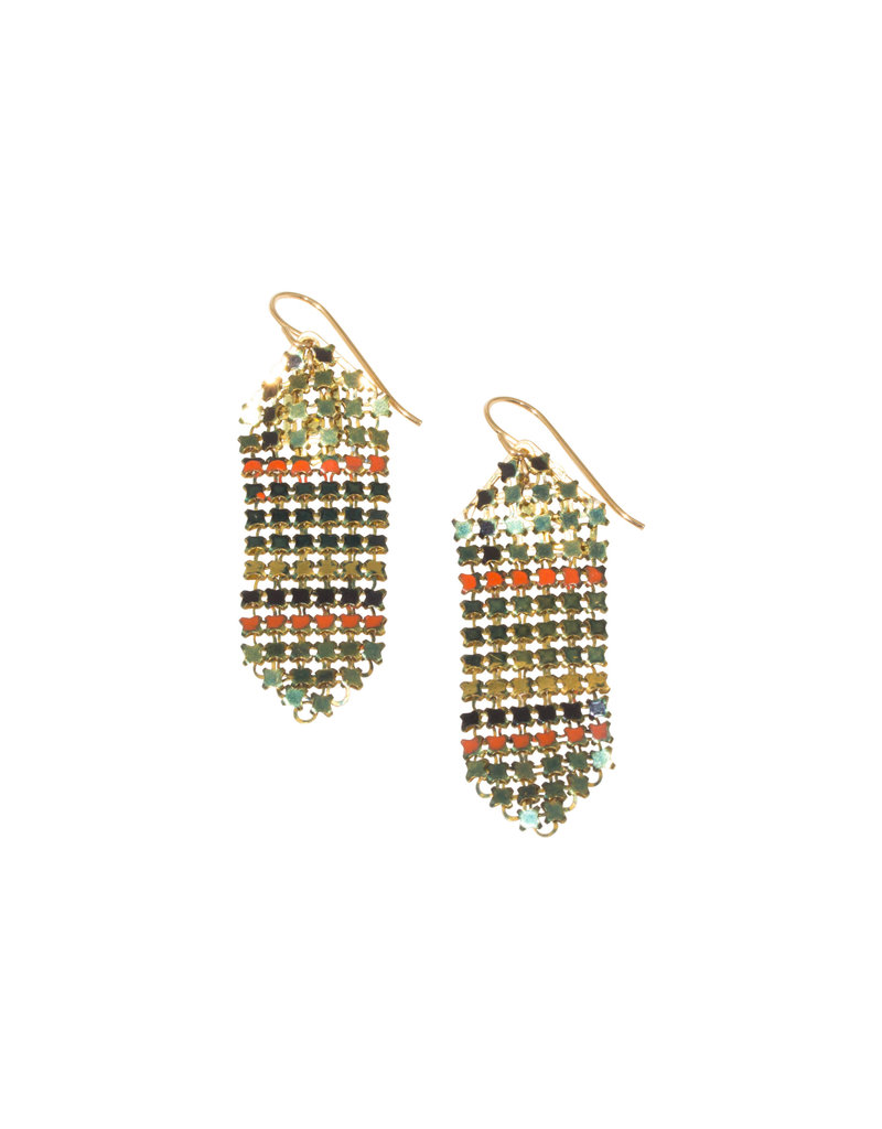 Maral Rapp Multi-Colored Medium Mesh Earrings