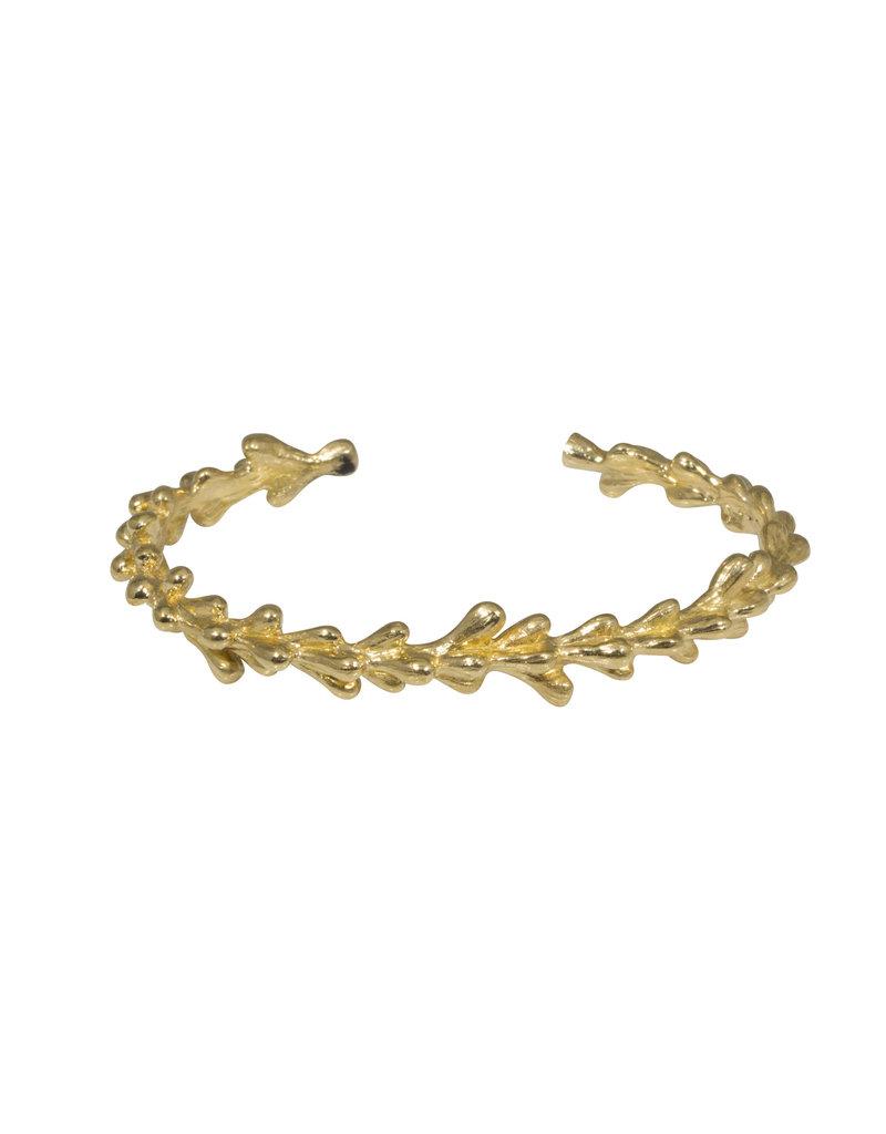Willow Cuff in Brass