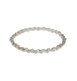 Willow Bangle in Silver