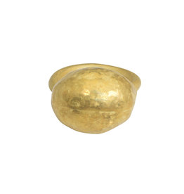 Matin by Christina Odegard Épaisse Germaine VII Ring in 18k Yellow Gold
