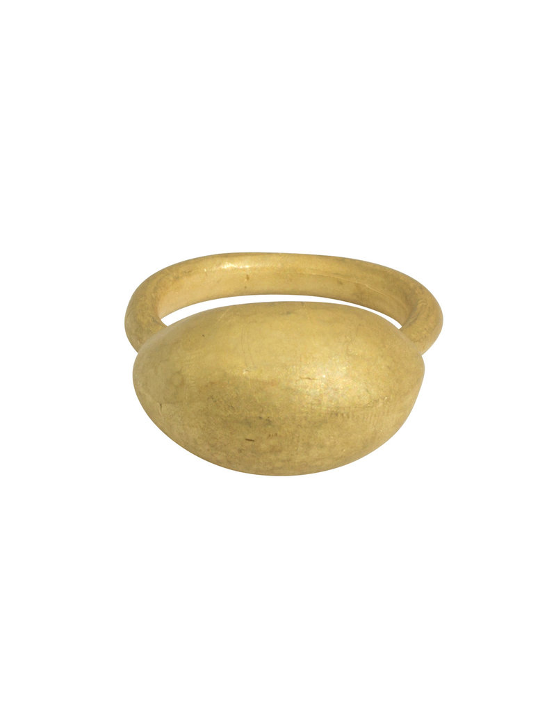 Matin by Christina Odegard Épaisse Germaine IV Ring in 18k Yellow Gold