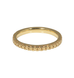 Nick Engel Golden Pave Band in 18k Yellow Gold