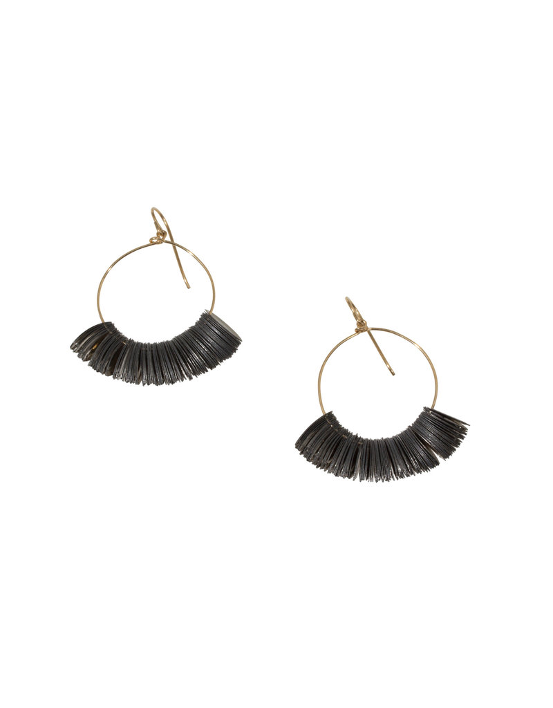 Salome Sequin Hoop Earrings