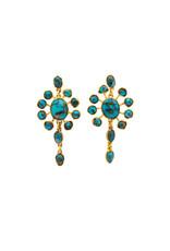 Rose of Samarkand Persian Earrings