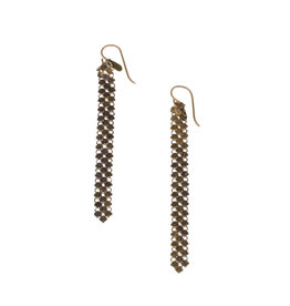 Maral Rapp Slim Mesh Earrings