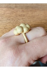 Cluster Ring in 18k Yellow Gold