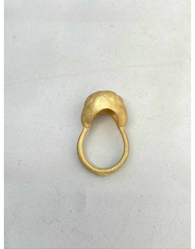 Épaisse Germane III Ring in 18k Yellow Gold