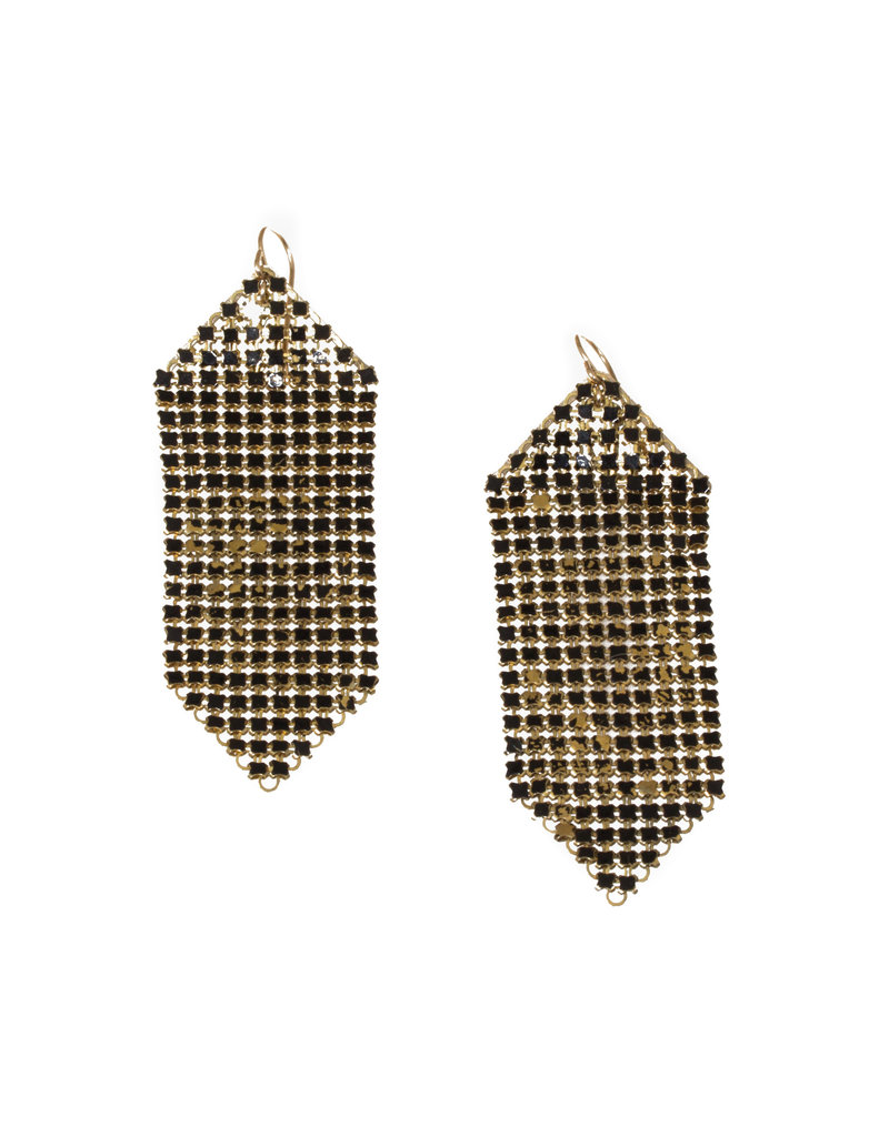 Maral Rapp Wabi Sabi Mesh Earrings - Large
