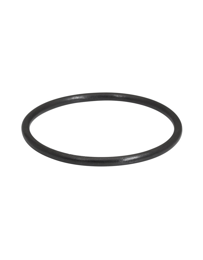 Black Round Zirconia Ceramic Bangle