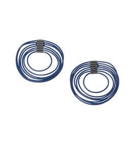 Indigo Loop Post Earrings