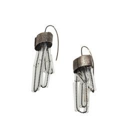 Short Glass Earrings
