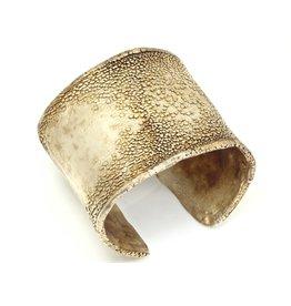 June Schwarcz Silver Plated Cuff Bracelet