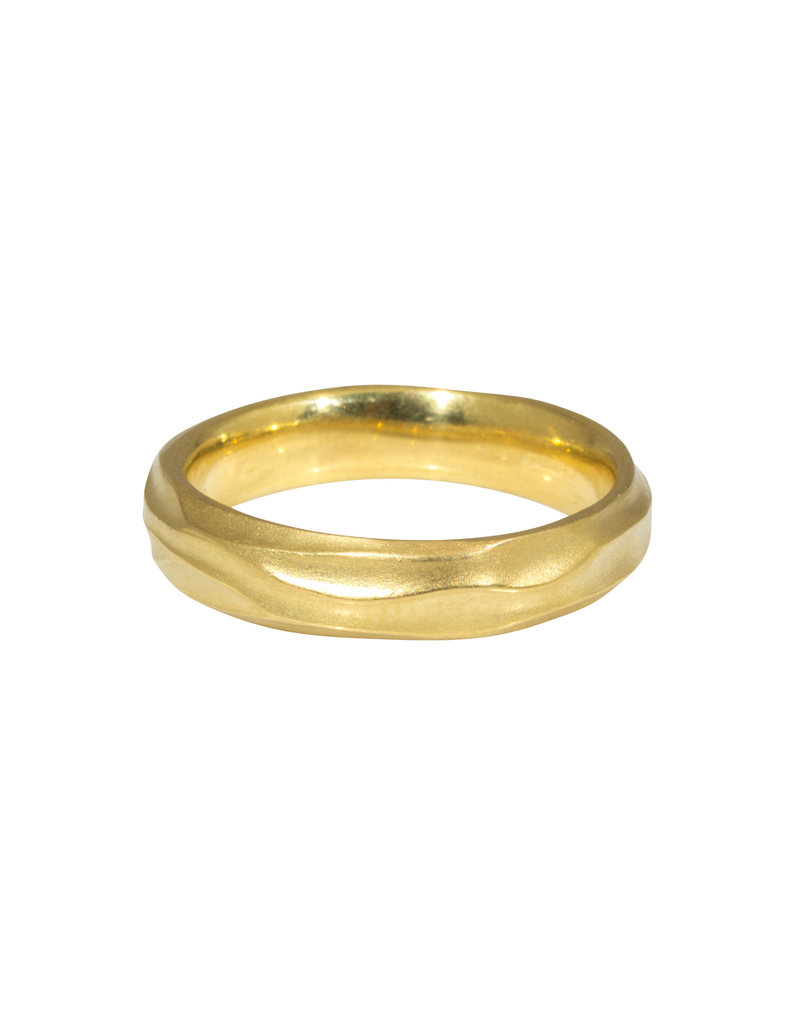 Wave Ring in 18k Yellow Gold