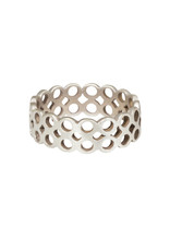 Double Open Circles Ring