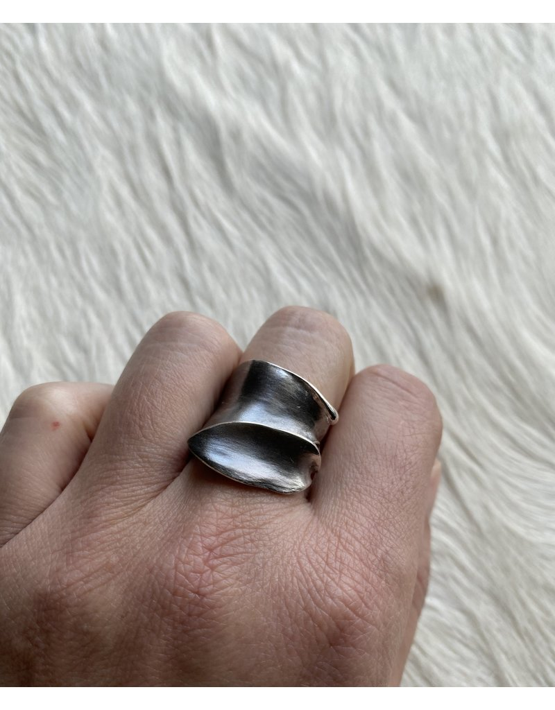 Leaves Ring in Silver