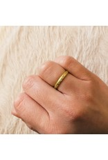 Seed Ring in 18k Yellow Gold