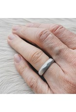 Vault Ring in Silver